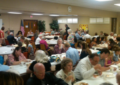 Church wide potluck